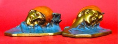 Photo of Gertrude Ederle Bookends