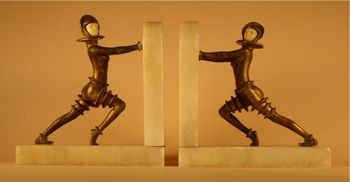 Photo of Robot Bookends