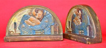 Photo of Flint Tile Bookends