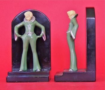Photo of Figural Bookends