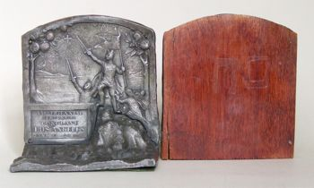 Photo of Knights Templar bookends