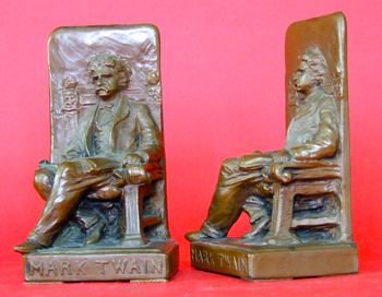 Photo of High Relief Bookends