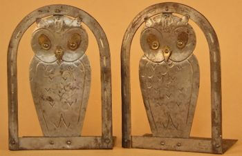Photo of Modernist Owl Bookends
