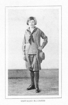 Photo of 1927 Girl Scout Camp Uniform from 1927 catalogue