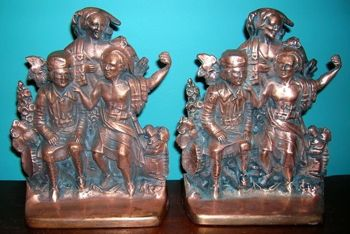 Photo of Last of the Mohicans Bookends