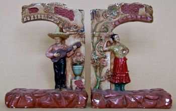 Photo of Chalkware Bookends