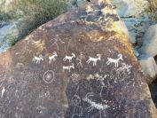 Petroglyphs in Grapevine Canyon, Laughlin, NV.