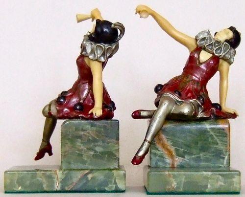 Photo of German Cabaret Dancer Bookends