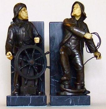 Photo of German Mariner Bookends