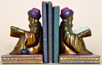 "Three and 3/4"" in height, these Scribes are by Ronson (L.V.Aronson)"
