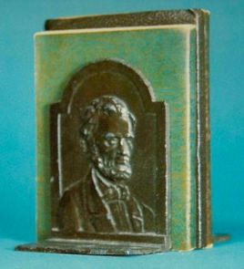 May 27, 2013. Lincoln Bookends that were sold with LLL sets.