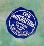 Paper Label on the base of the ARTCRAFTERS Bookends