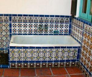 Photos of Adamson House Malibu Potteries Tile