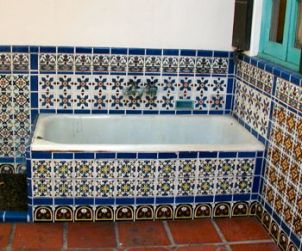 Photos of Adamson House Malibu Potteries Tile