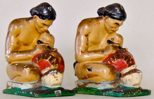 Photo of Indian Potter Bookends
