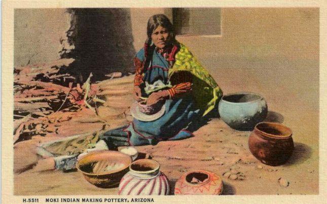 Photo of Moki Potter Postcard