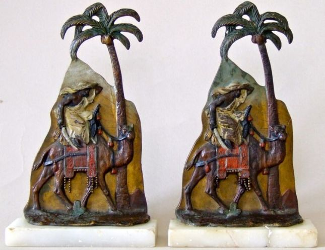 Photo of Austrian Bronze Bookends