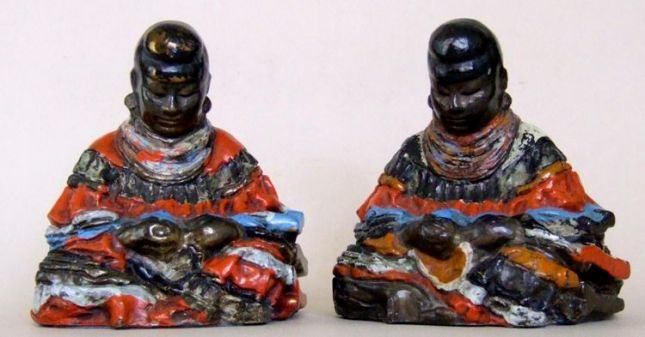 Photo of Seminole Indian Bookends