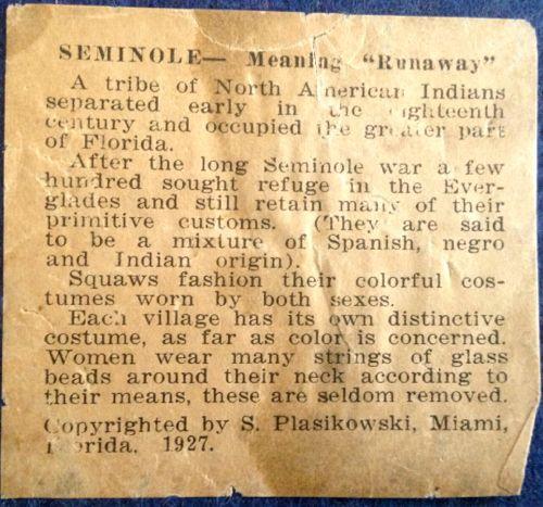 Photo of Seminole Bookends Legend