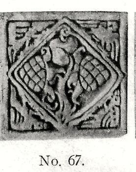Photo of 1912 Batchelder Tile No. 67