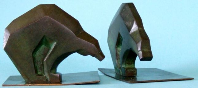 Photo of Bear Bookends