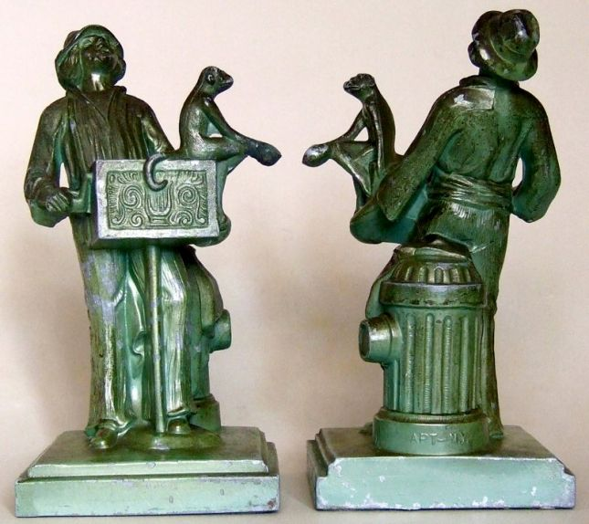 Photo of Organ Grinder Bookends