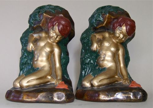 Photo of Victorian Nude Bookends