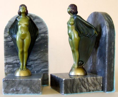 Photo of Nude Bookends
