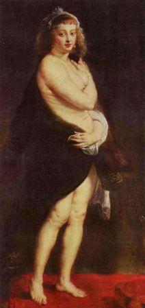 Portrait of Helene Fourment, Kunsthistorisches Museum.