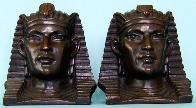 Photo of Pharaoh bookends
