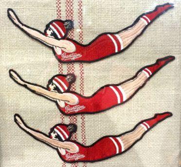 Jantzen,1920 Diving Girl Logo and 1926 Advertisement