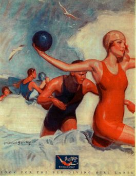 Jantzen Ad, Saturday Evening Post, June 3, 1926