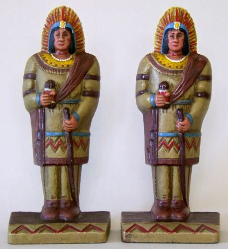 Photo of Cigar Store Indian Bookends