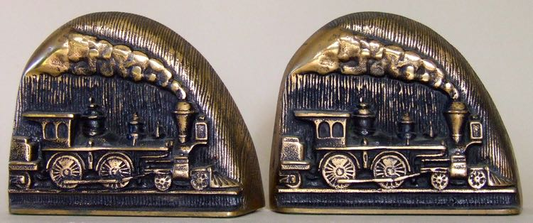 Promotional Bookends. Westinghouse Air Brake Co.