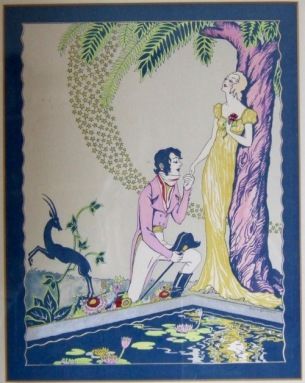 Photo of Art Deco Poster by Orpha Klinker