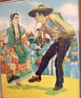 Print of Mexican Dancers