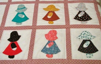 Sunbonnet Sue Quilt by Margaret Hobbs Cook