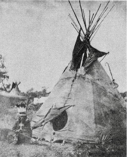 Photo of Indian and Tipi