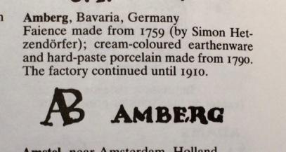 BE Porcelain Monks Amberg