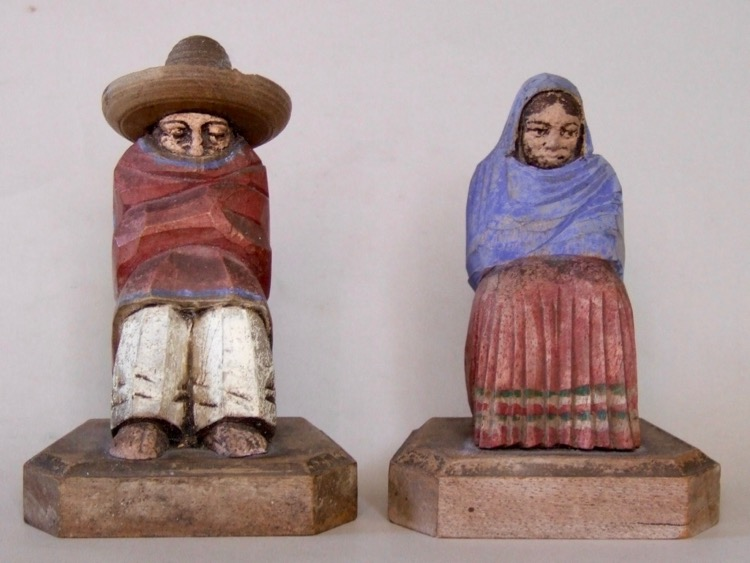 Photo of Carved Mexican bookends
